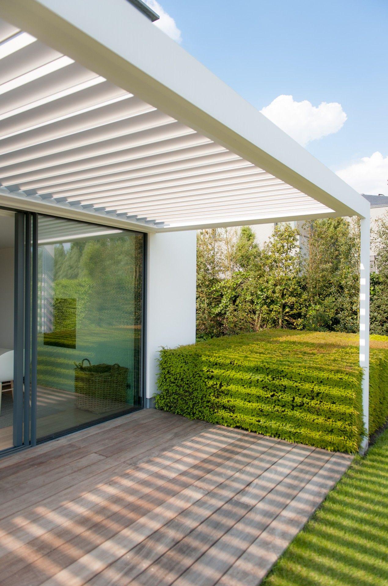 Photos De Verandas En Bois livium #louvredaken maken de terrasoverkapping of veranda