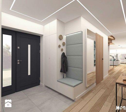 Aranzacje Wnetrz Hol X2f Przedpokoj Hol X2f Salon Z Otwarta Kuchnia Hol X2f Przedpokoj Styl Skand Home Entrance Decor House Entrance House Design