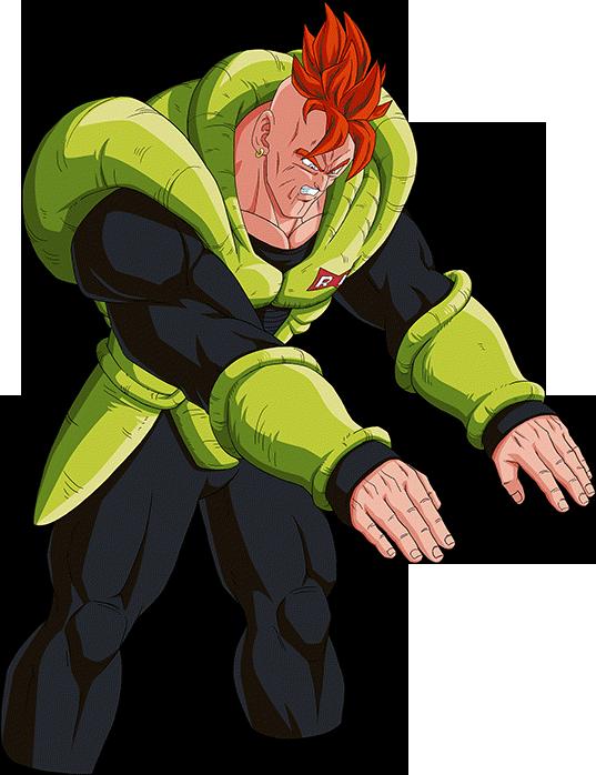 Android 16 Render 11 Dokkan Battle By Maxiuchiha22 On Deviantart Dbz Characters Dragon Ball Super Goku Cartoon Shows