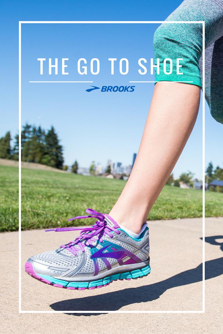Adrenaline Gts 17 Road Running Shoe Brooks Running Running Running Shoes