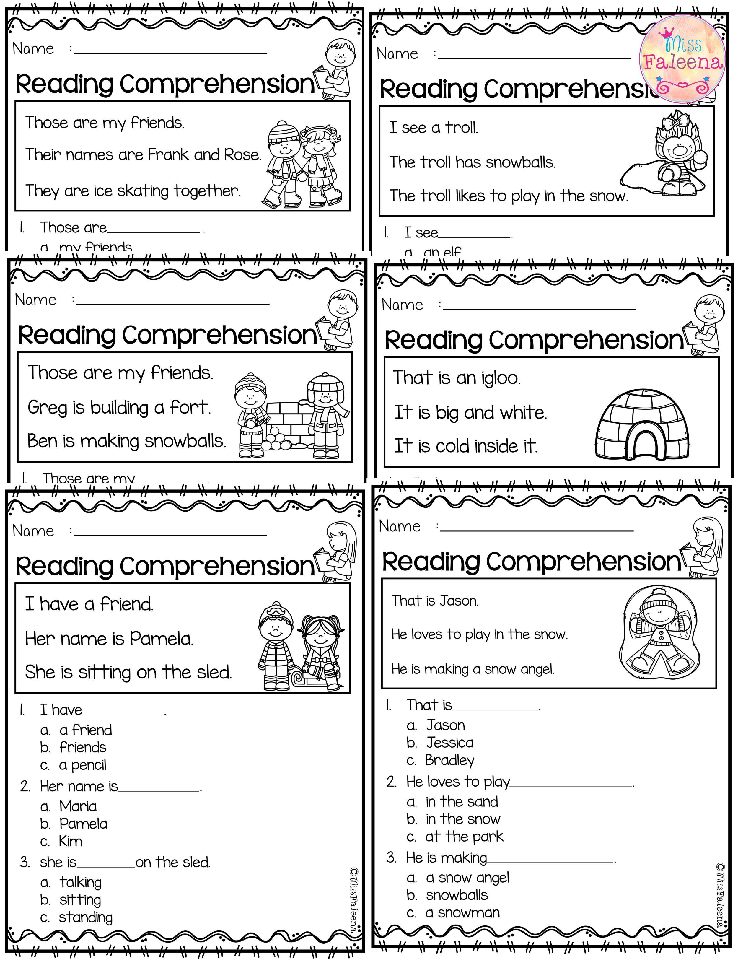 January Reading Comprehension
