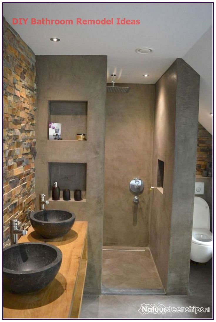 15 Incredible Diy Ideas For Bathroom Makeover In 2020 Kleine Badkamer Design Badkamer Kleine Badkamer Ontwerpen