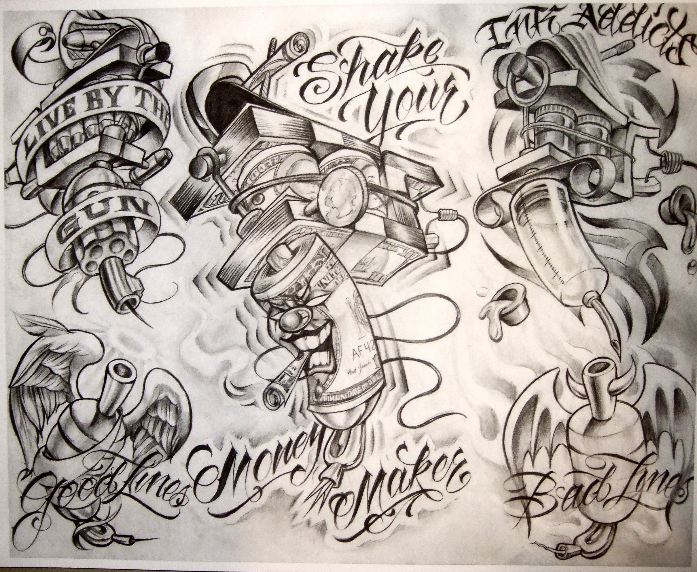picture relating to Free Printable Tattoo Flash named A Tattoo Flash Sheet by means of Boog tattoos Boog tattoo, Tattoo