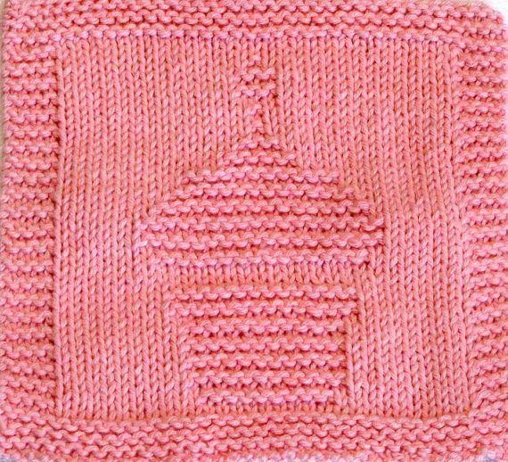 Knitting Cloth Pattern Birthday Cupcake Pdf Pats Pinterest Pdf
