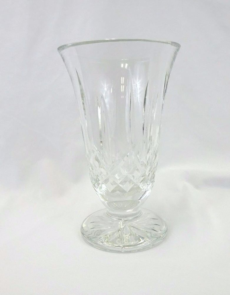 Waterford Crystal Lismore Vase 85 Signed Gift Ideas Pinterest