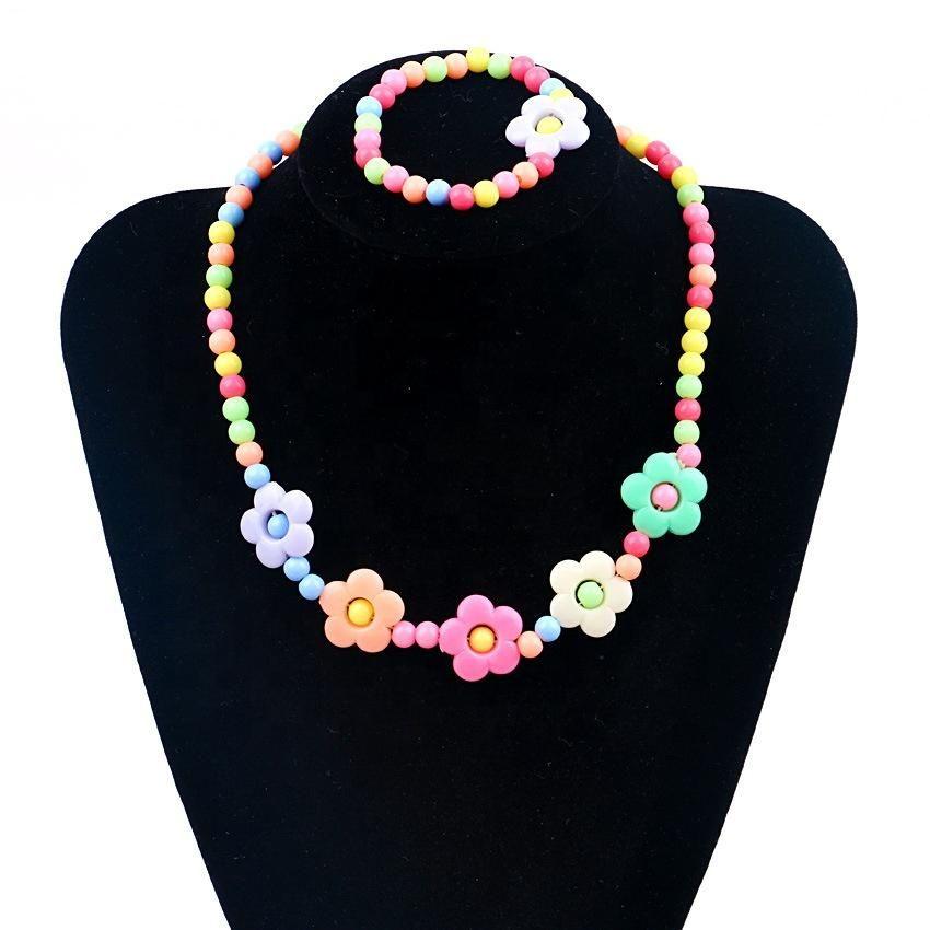 8e669f705492 L21 Pretty Petals Jewelry Set   BABY SHOWER   Collares para niñas ...