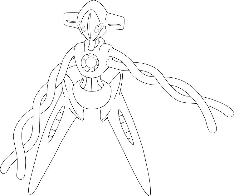 Pokemon Coloring Pages Deoxys Http Prinzewilson Com Pokemon
