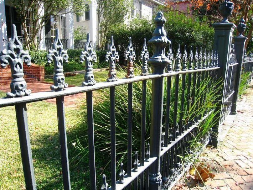 Elegantes Eisen Zaun Bilder Fur Das Moderne Haus Hauser Mit Einem