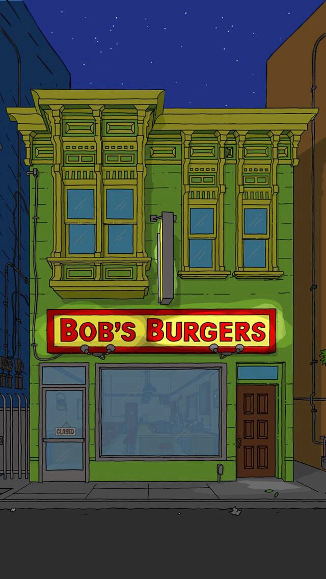 Bobs Burgers Nighttime Iphone Wallpaper Bobs Burgers