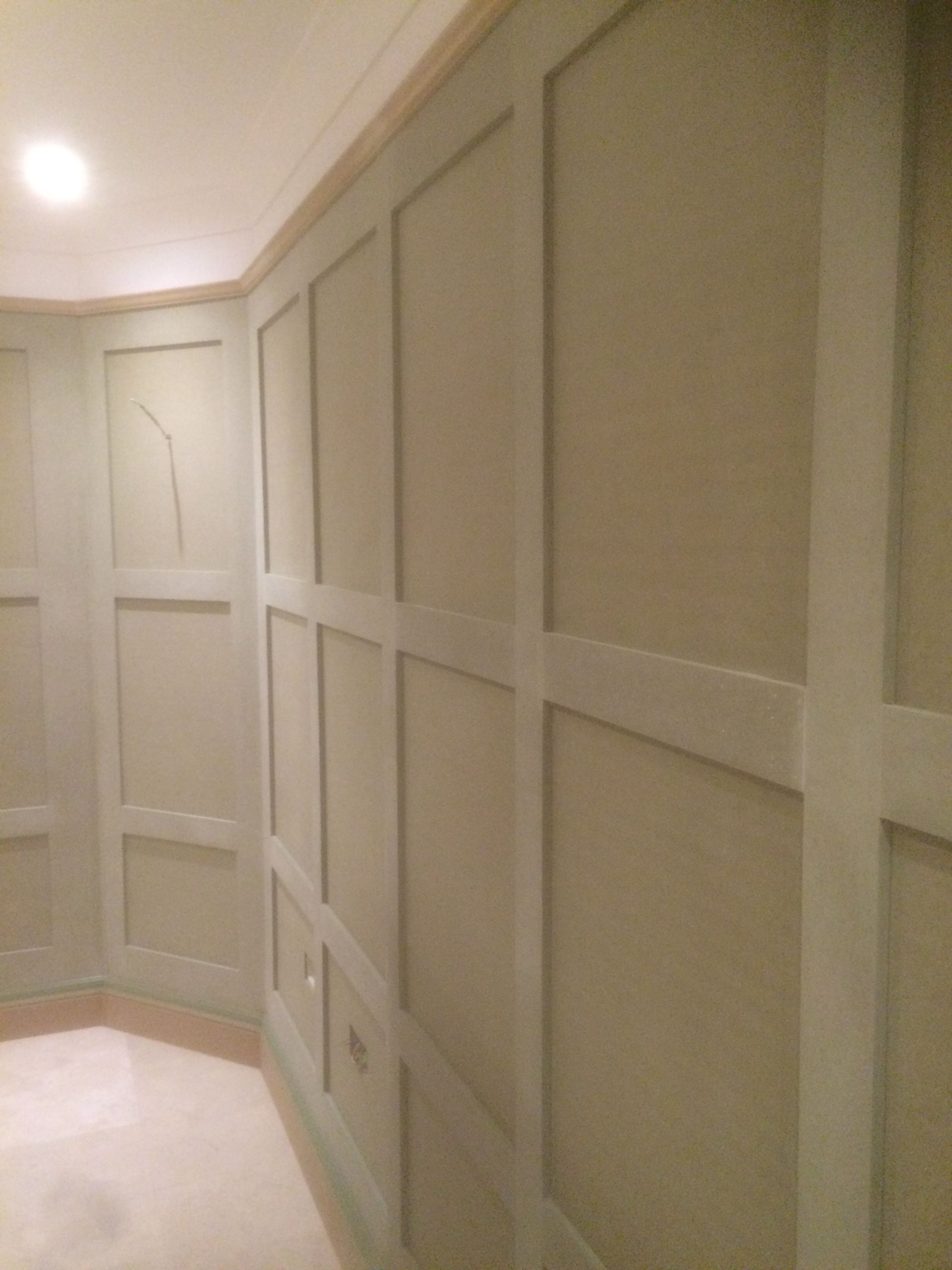 Paneled Walls Pics: 18mm Thick High Quality Made To Order Shaker Panelling