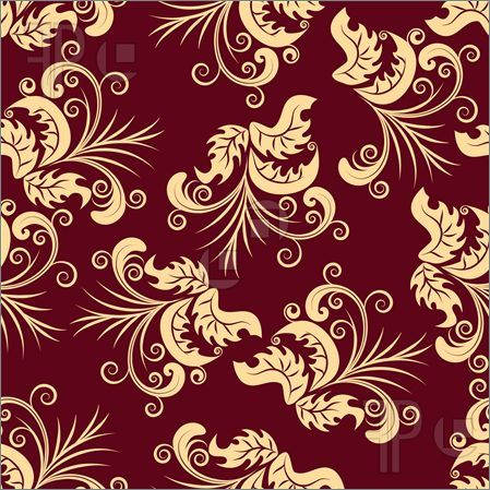 Maroon Floral Background Royalty Free Stock Illustration Floral Background Maroon Background Abstract