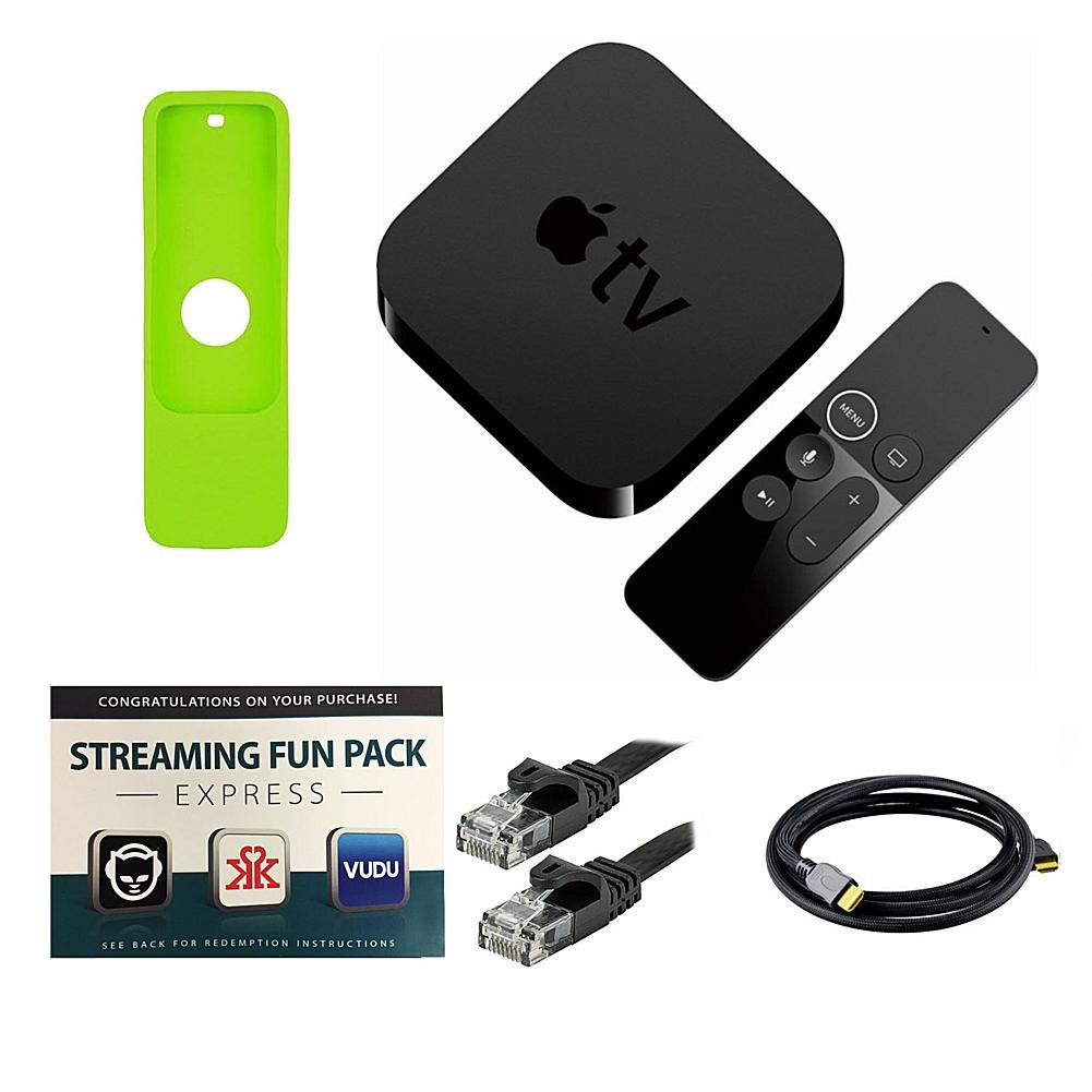 Does Apple Tv Require Ethernet Cable: Apple TV 4K 2017 32GB with Siri Remote Sleeve Cables and Software rh:pinterest.co.uk,Design