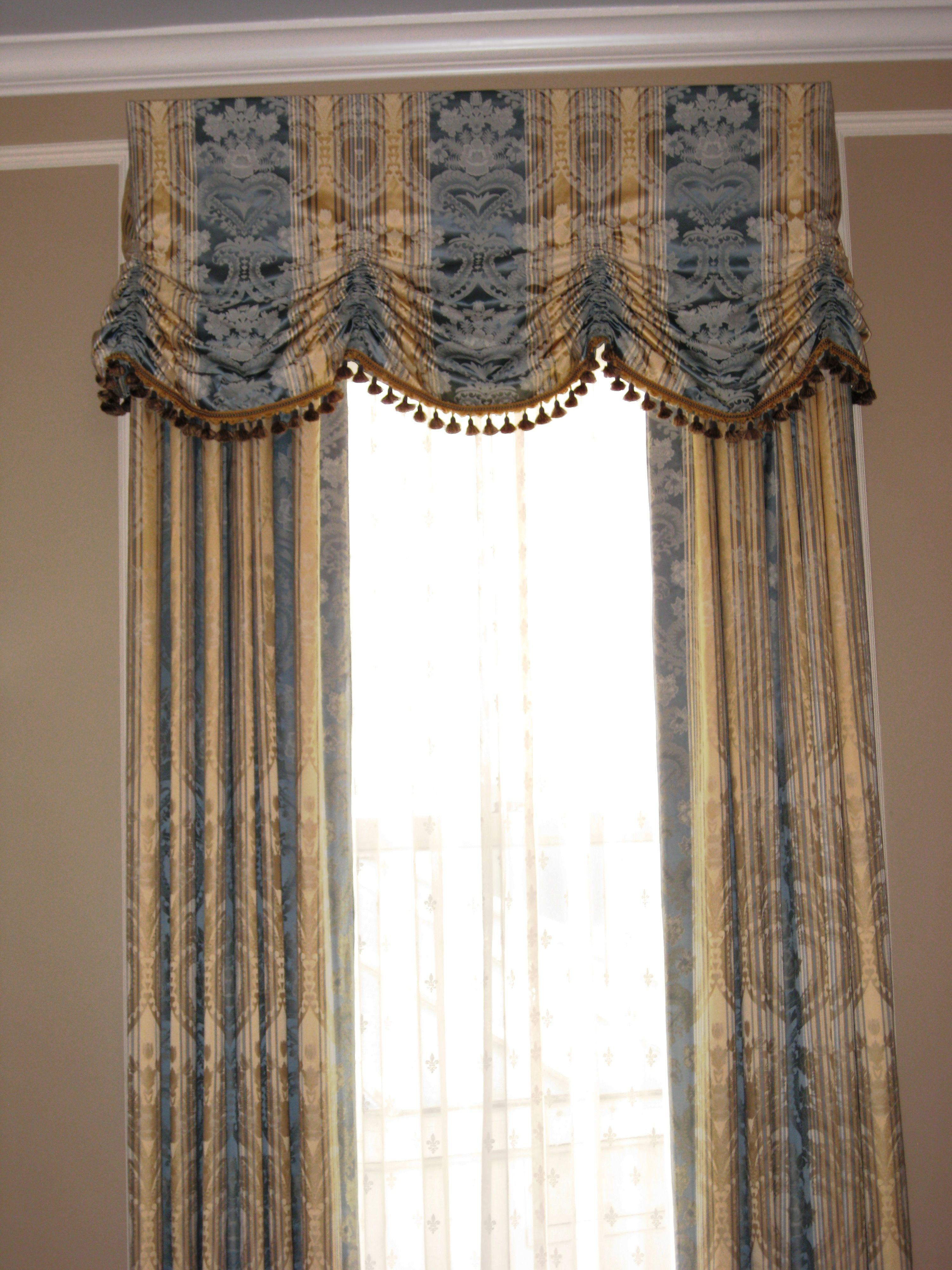 Www Magnolialane Com Festoon Shirred Valance With Tassel