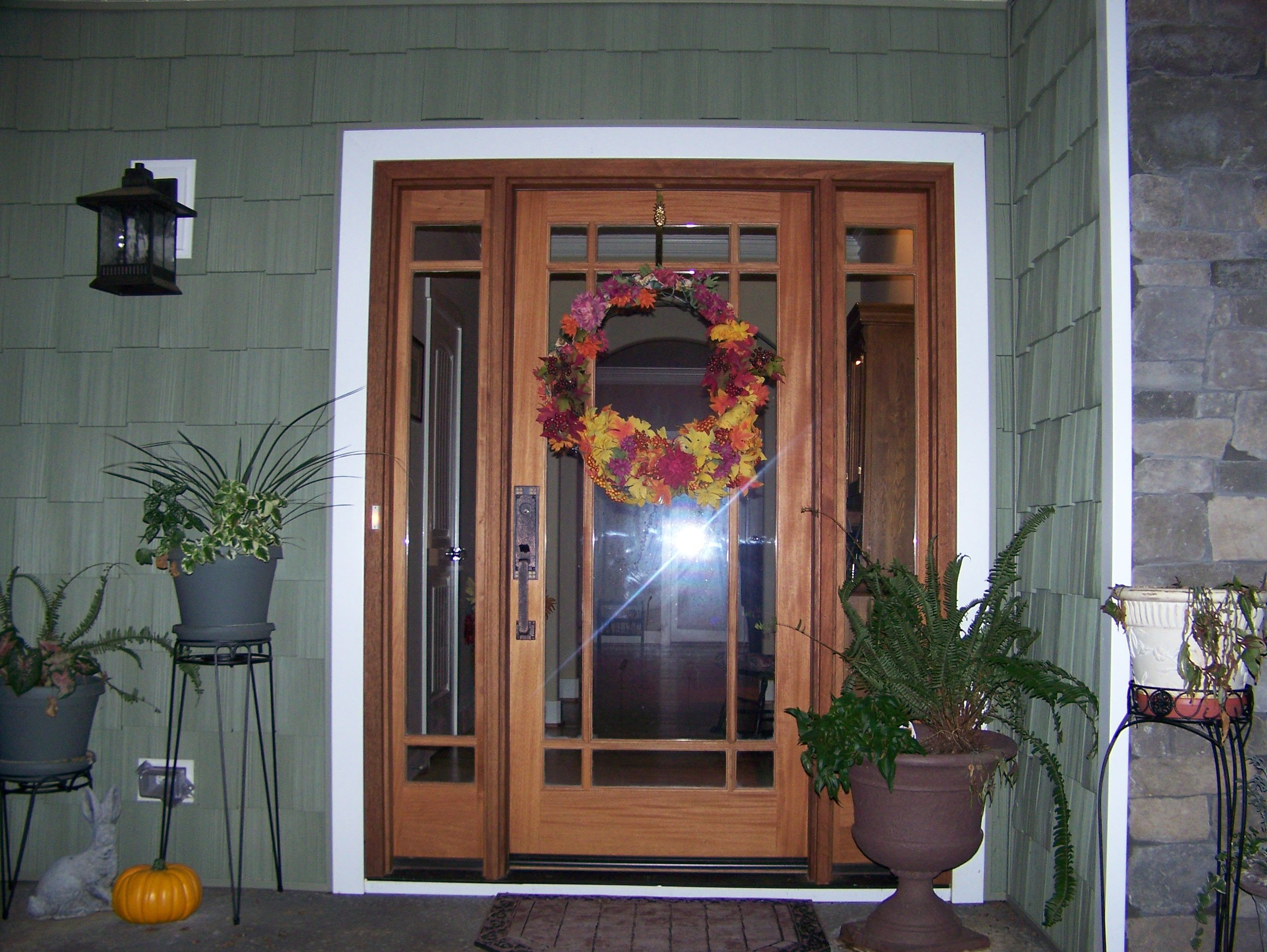 Front Doors Is A Craftsman Mission Style Door With A Prarie - Front door styles