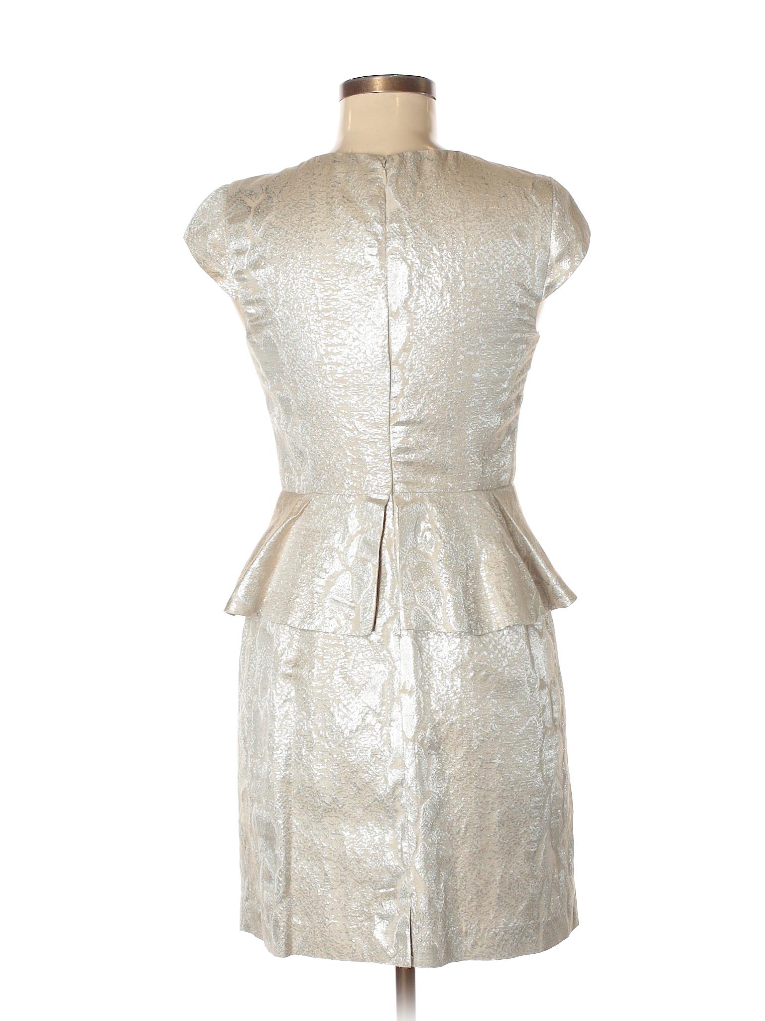 Kensie Cocktail Dress Size 4 00 Tan Women S Dresses 24 99