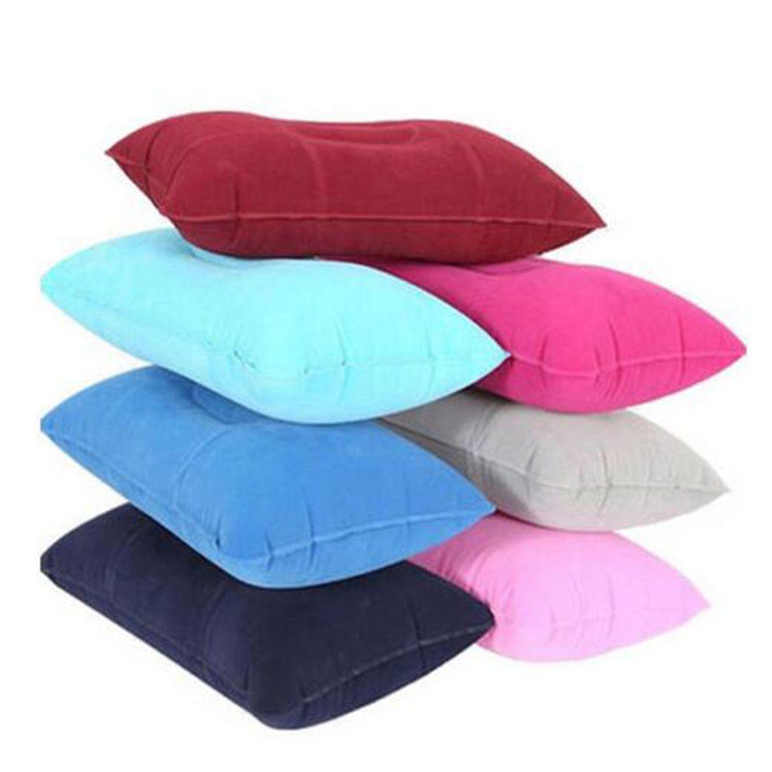 nouveau portable gonflable oreiller voyage coussin d 39 air beach camp voiture avion head rest bed. Black Bedroom Furniture Sets. Home Design Ideas