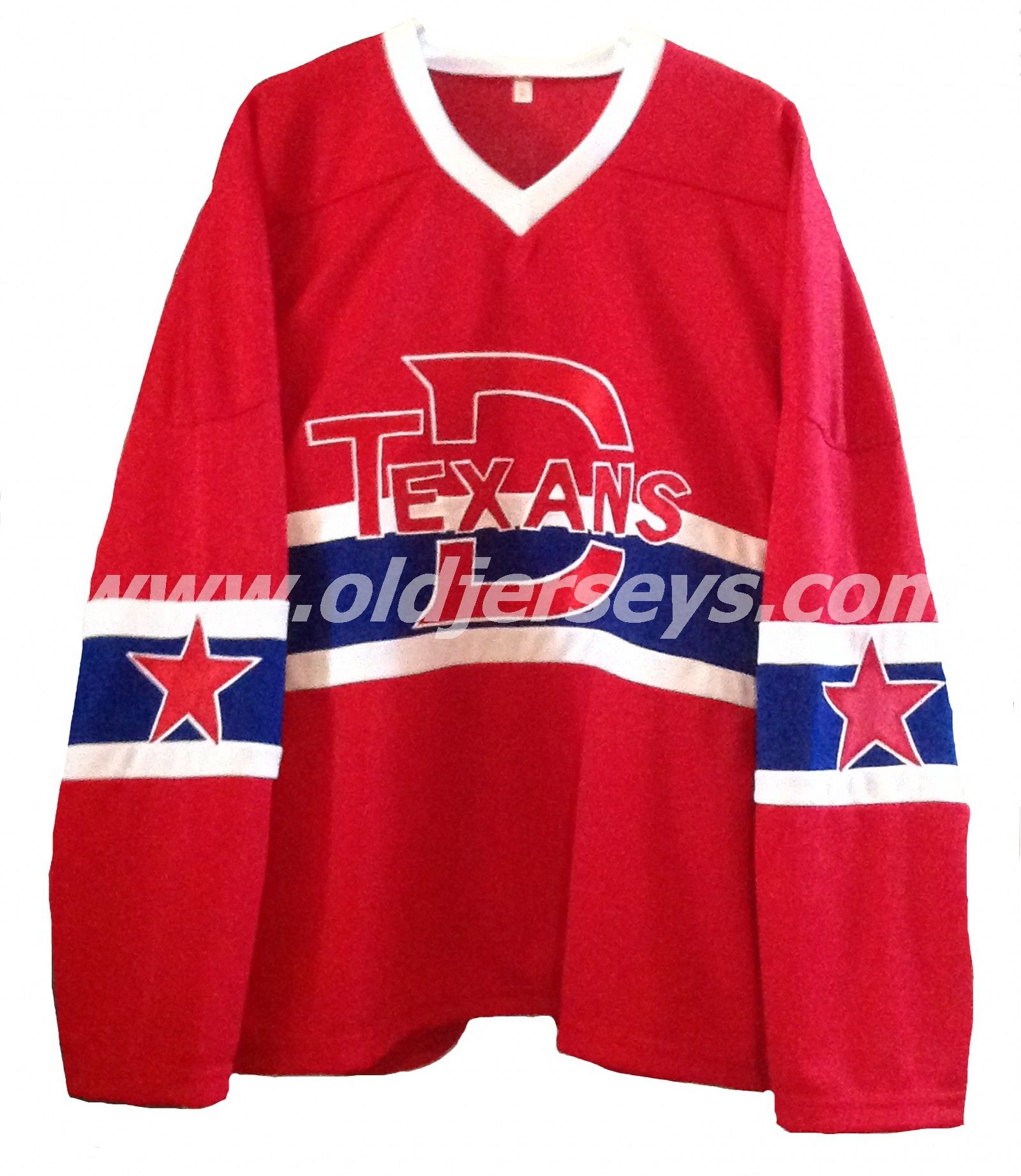 Dallas Texans American Hockey Association Hockey Jersey  02b14f6c2