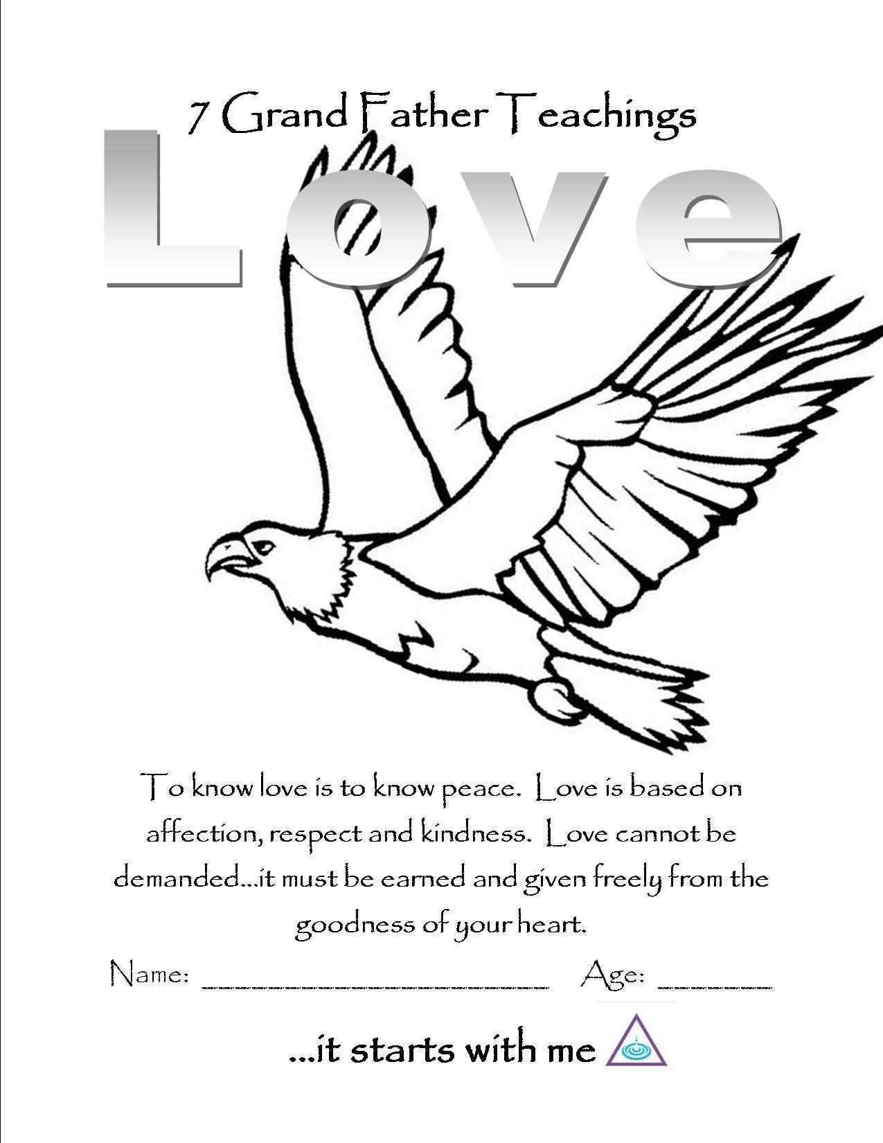 Love Color Page