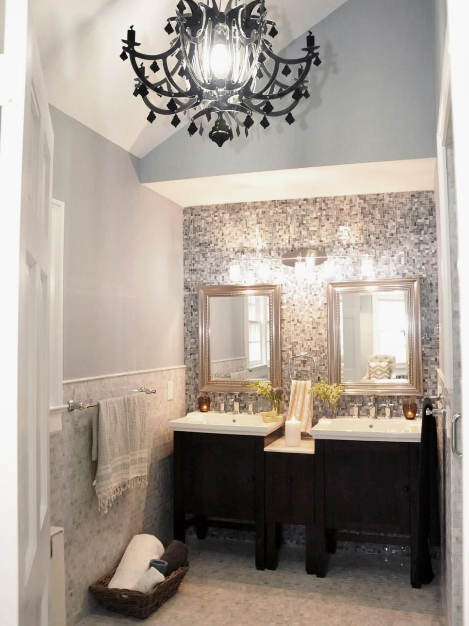 The Signature Elements In This New Master Bathroom Include Light