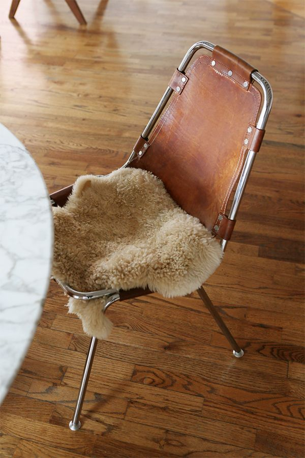 sheepskin chair pad   Cojines sillas comedor   Pinterest   Sillas ...