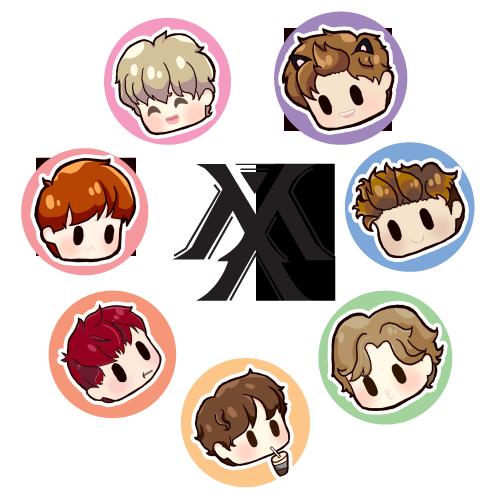 StanMonstaX | Print stickers, Monsta x, Cute stickers