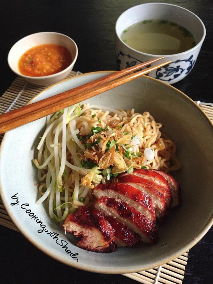 Wantan Mie Khas Bagan Makan Siang Resep Masakan Memasak