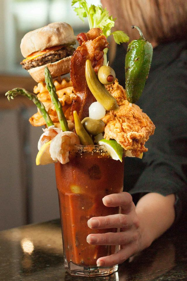 The 12 Craziest Best Bloody Marys In America Cocktails Bloody