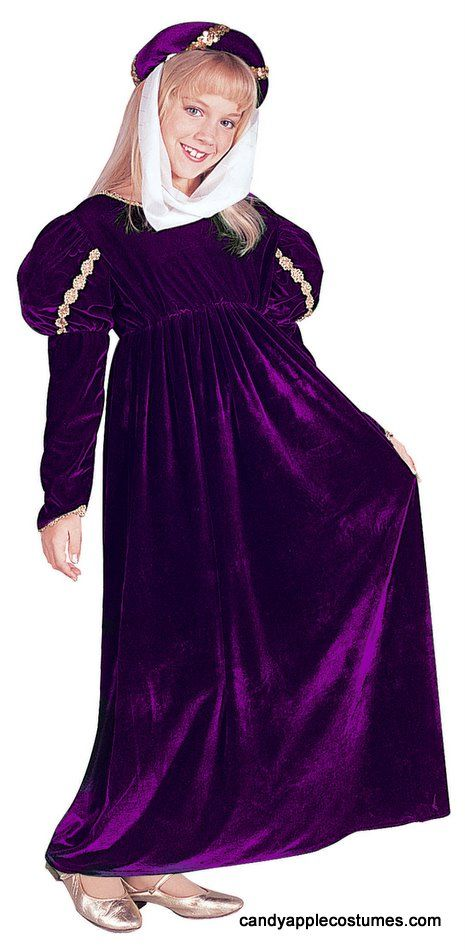 Childu0027s Purple Renaissance Princess Costume - Candy Apple Costumes - Girlsu0027 Costumes  sc 1 st  Pinterest & Childu0027s Purple Renaissance Princess Costume - Candy Apple Costumes ...