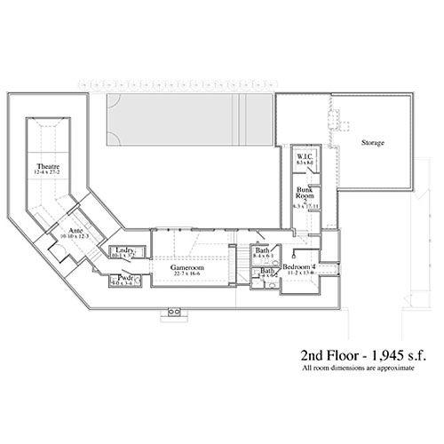 coastal living ultimate beach house rosemary beach fl first floor - Coastal Living Floor Plans