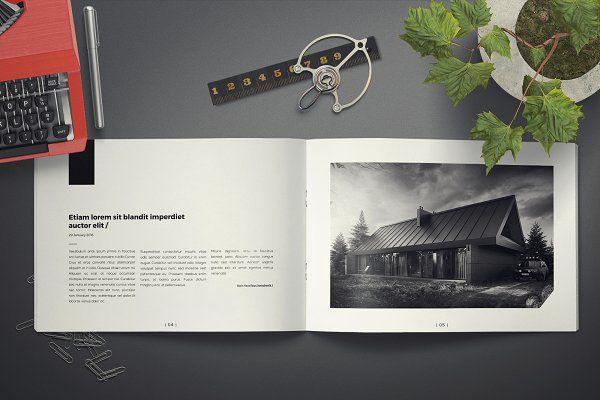 Architecture Landscape Brochure  Brochures  Comunica
