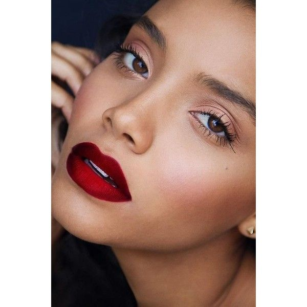 22 Stunning Lip Colors to Try (Like Right Now!) - Styles Weekly via Polyvore featuring beauty products, makeup, lip makeup, lips, beauty and faces