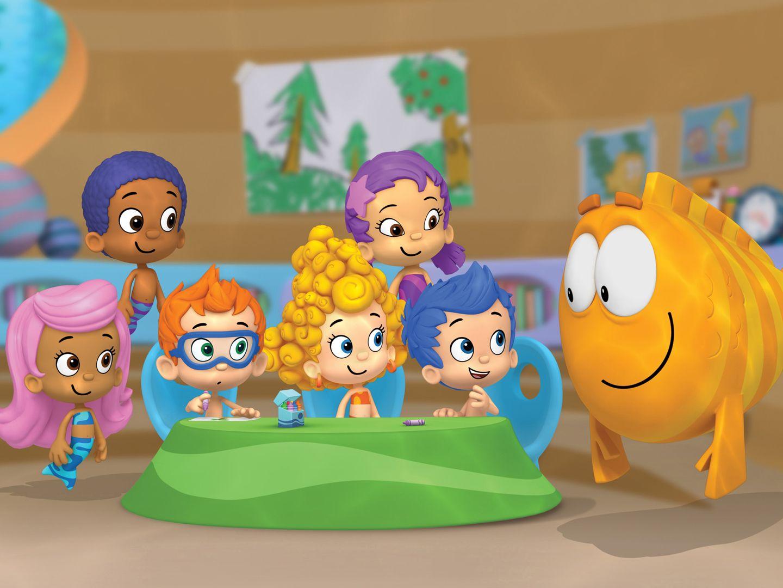 Vistoso Los Guppies De Burbujas Para Colorear Oona Viñeta - Dibujos ...
