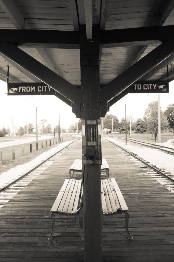 Chicago photography, Vintage CTA Chicago train stop, Chicago Photograph, etsy wall art, chicago art, train art, boys room decor