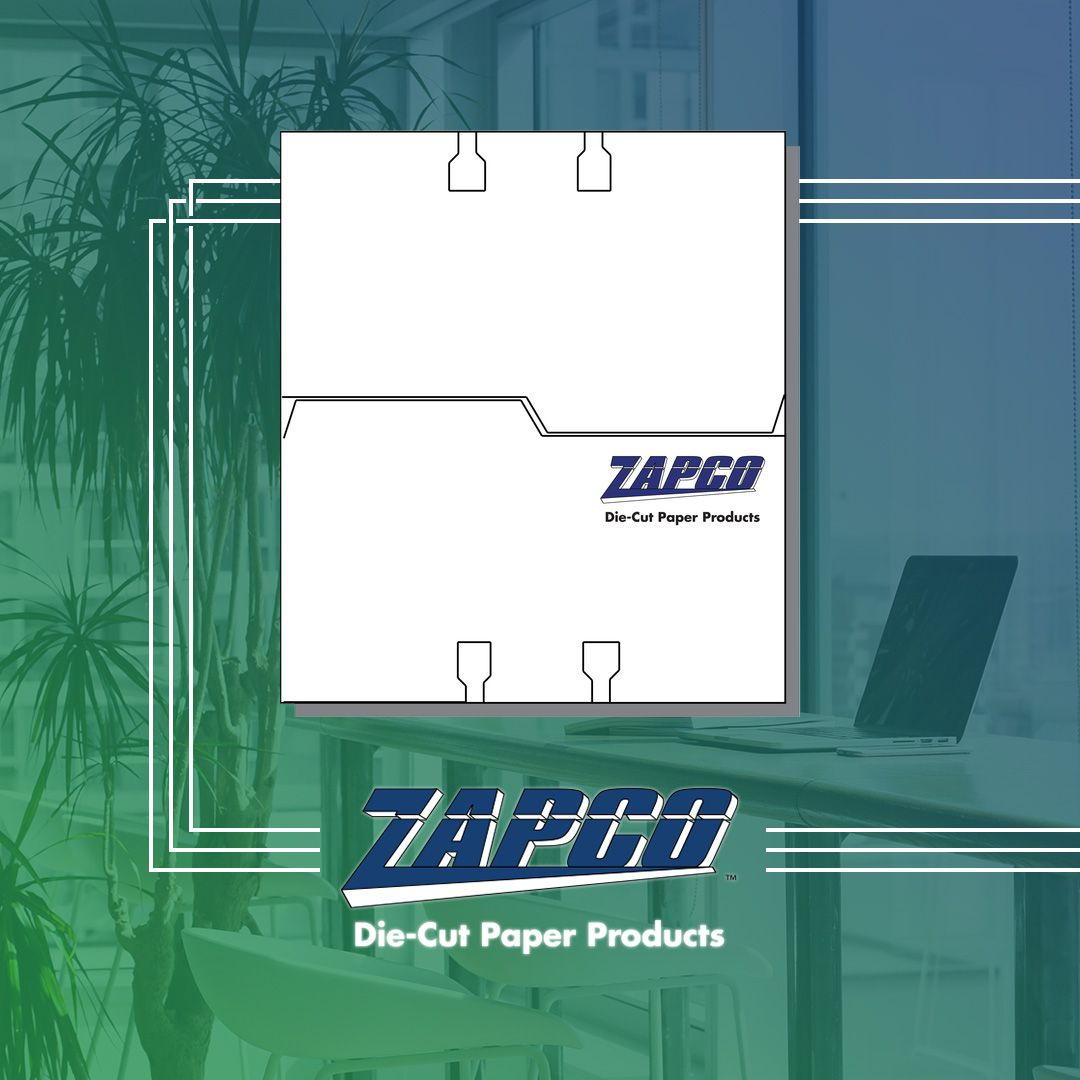 File Check Out Card pin on zapco paper