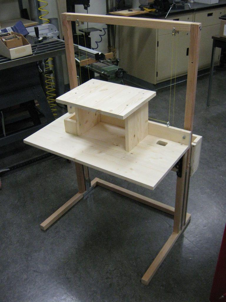 Convertible StandingSitting Desk for 200  House