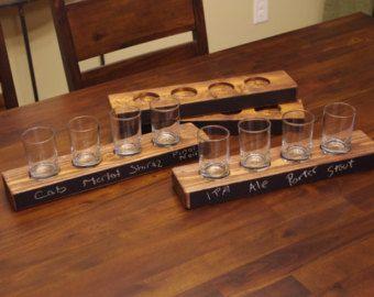 Beer Tasting Tray Beer Flight Tray Beer By Elevatedpartysupply