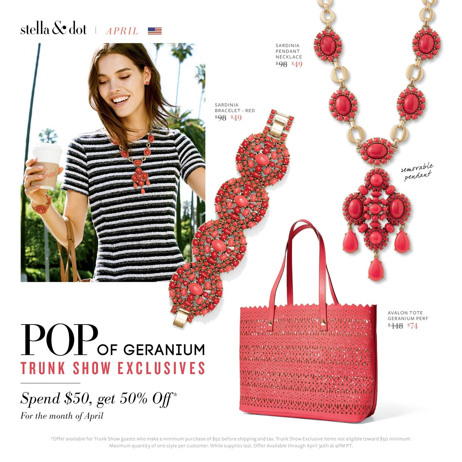 Everyday Reinvention (formerly Mommy's Firsts): April Stella & Dot Specials