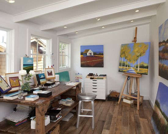 Art Studio Design Ideas art and craft workplace by camilla engman Art Studio Design Design Pictures Remodel Decor And Ideas
