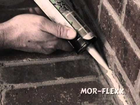 how to fix cracked mortar or concrete in a fireplace with mor flexx rh pinterest com