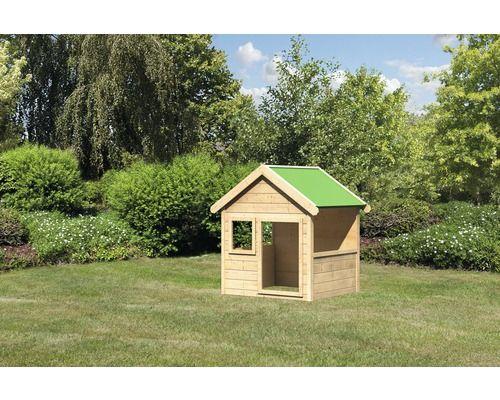 spielhaus karibu hobbit holz natur bei hornbach kaufen garten pinterest spielhaus hobbit. Black Bedroom Furniture Sets. Home Design Ideas