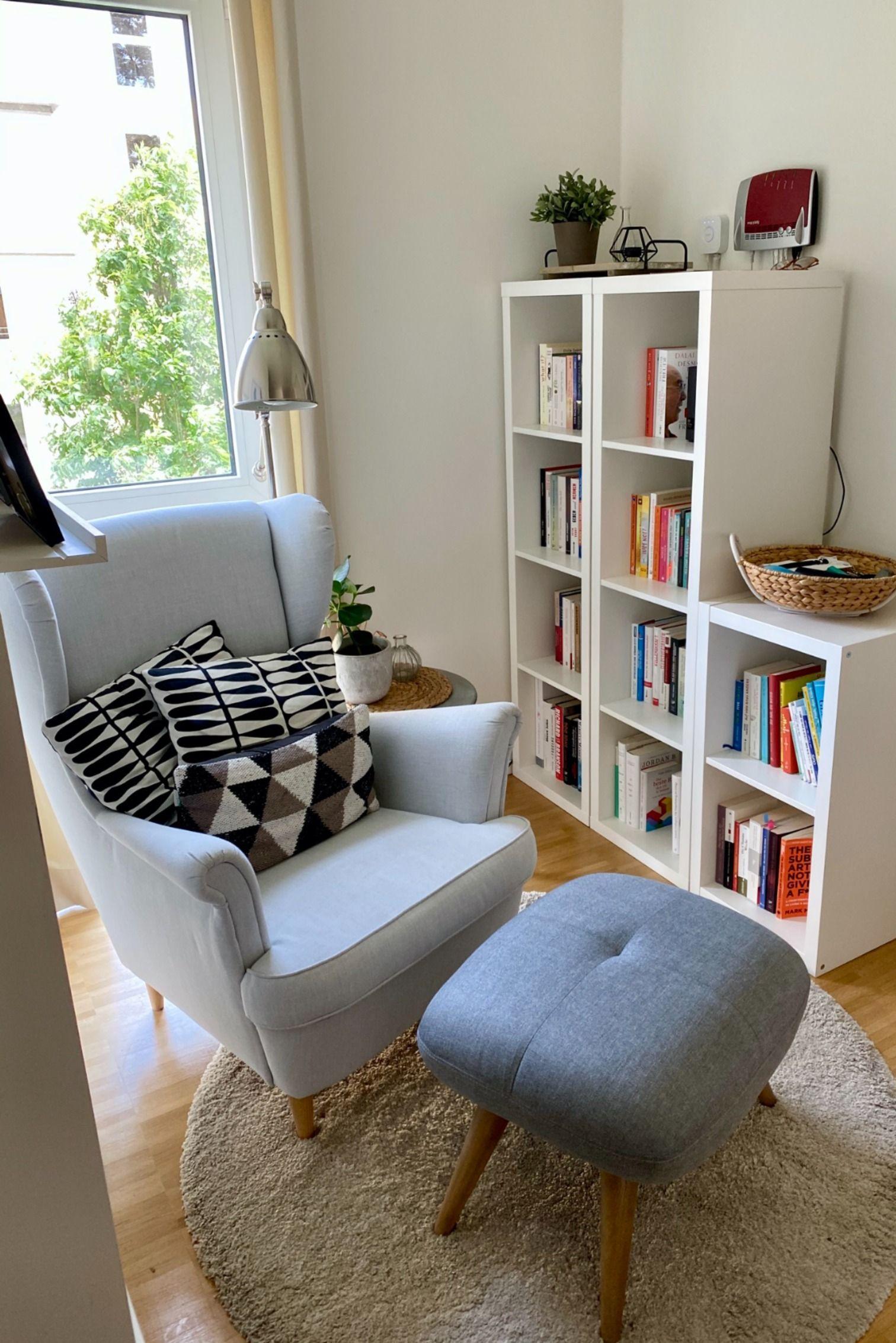Gemütliche Lese-Ecke in 3  Wohnzimmer einrichten, Haus deko