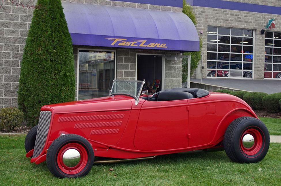1934 Ford Highboy Rumble Seat Roadster at Fast Lane