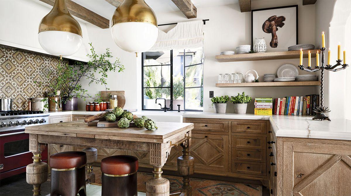Luxus Kolonialstil Küche Design  Küchen design, Spanische küche