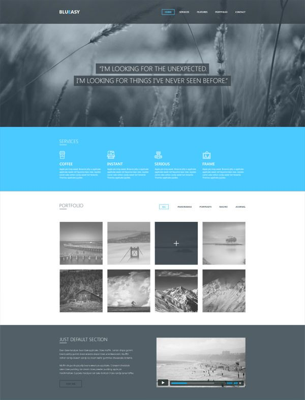 Bootstrap Website Templates 20 Free Highquality Psd Website Templates  Template Blog And 20""
