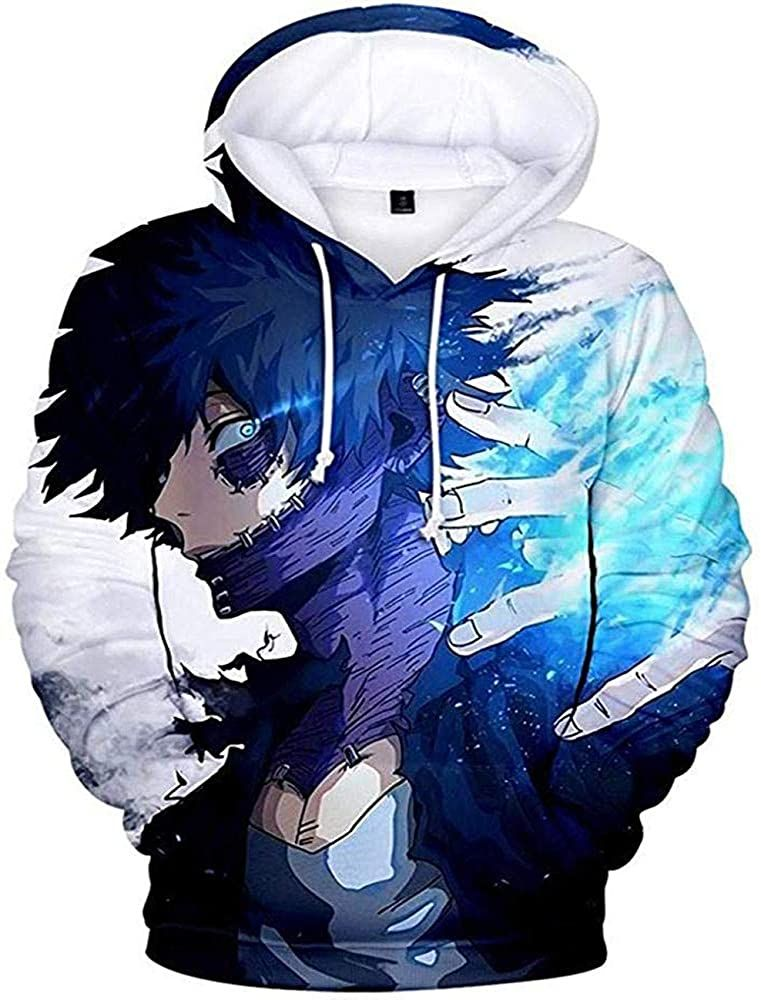 3D Printed Hoodies Unisex Boku No Hero
