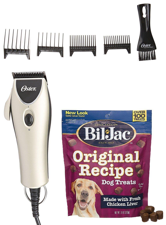 Includes Bil-Jac Original Recipe Dog Treats 10oz Oster Super Duty Clipper Kit