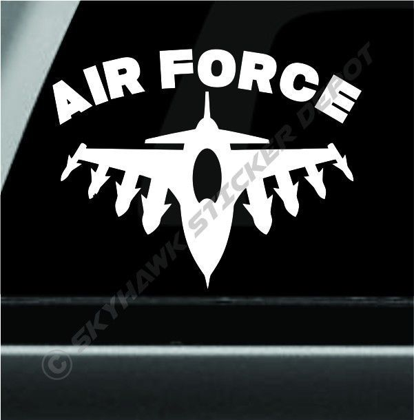 United States Air Force Sticker Decal F 16 Fighting Falcon