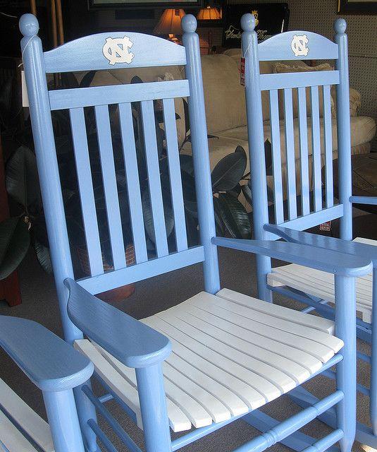 university of north carolina at chapel hill rocking chair