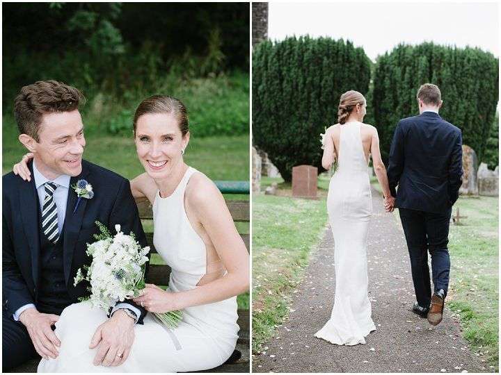Devon Wedding With A Stella Mccartney Wedding Dress By Ana Lui