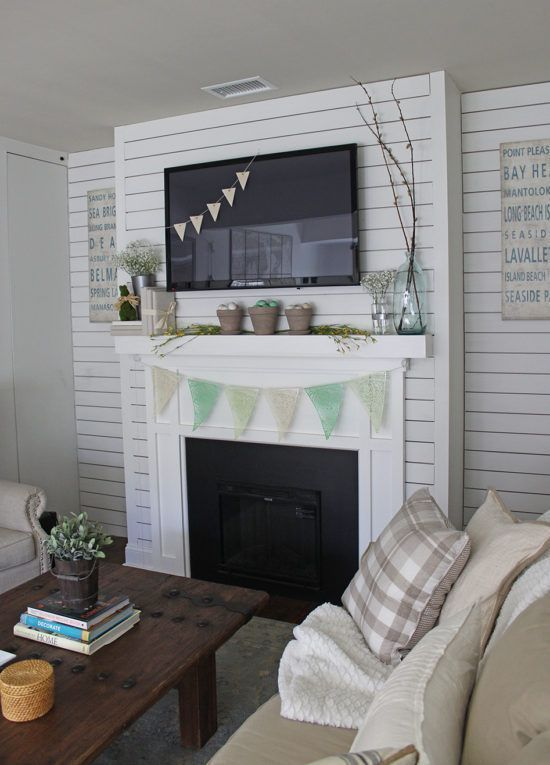 Spring Mantel Decorating Ideas The Honeycomb Home